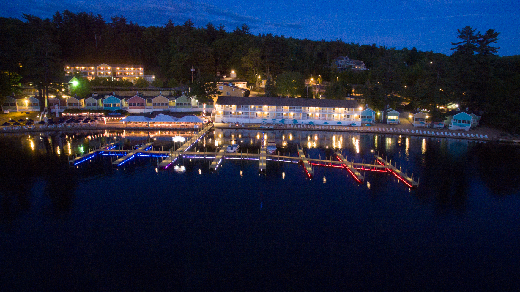 Lake Winnipesaukee Rooms, Cottages and MORE at the NASWA Resort
