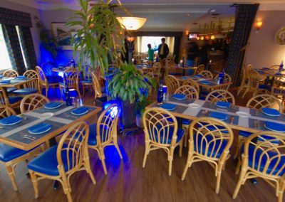 Blue Bistro Dining Room