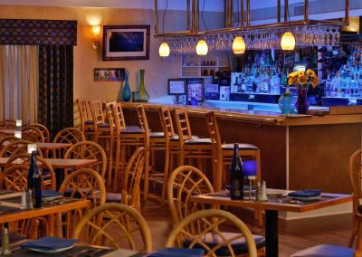 Blue Bistro Dining Room and bar
