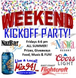 Weekend Kickoff Party flyer